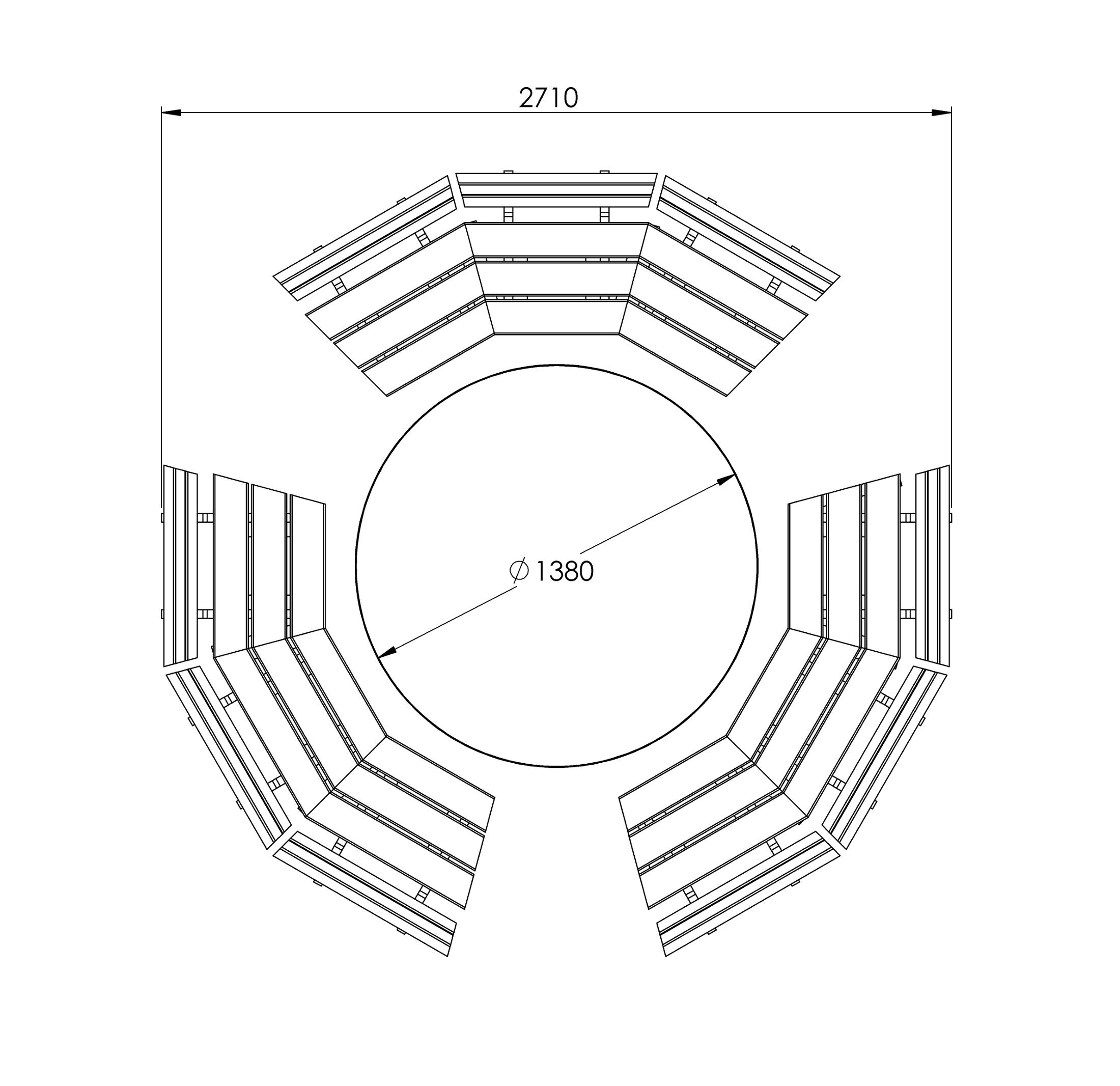Massskizze_Arco_Sitzgruppe_3x3-2200px