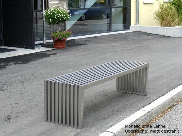 Edelstahlbank-Monello