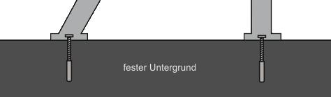 Jugendbank-I-Schraubensatz