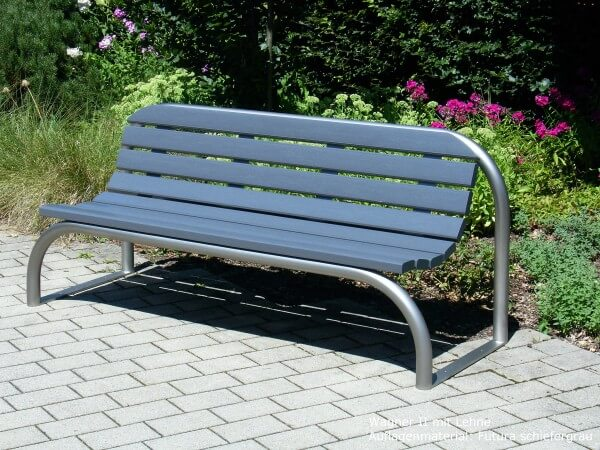 Parkbank-Wagner-II-Futura-schiefergrau