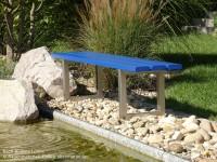 Hockerbank-Bach-II-Colore-ultramarinblau
