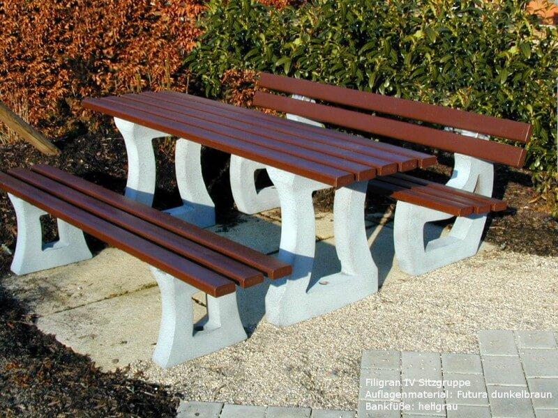 Kunststoff-Sitzgruppe Filigran IV