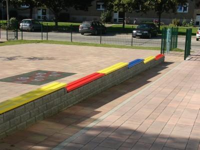 Auflagen für Mauern
