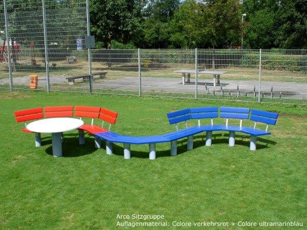 Rundbank-Arco-Wellenform